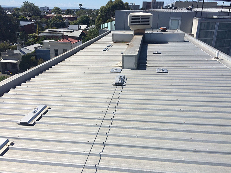 Static Lines - Rooftop safety solutions