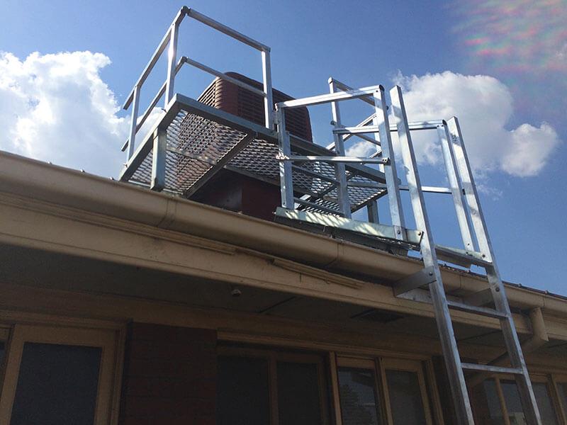 Rooftop Handrails