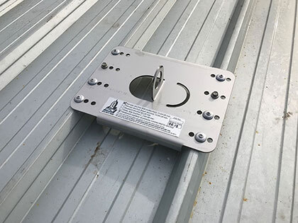 Fall Protection covered with Anchor Points